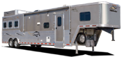 Living quarters trailers for sale at Jims Motors Trailers